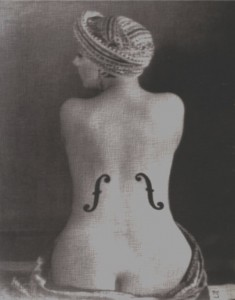 Man Ray, Le Violon d'Ingres (1924) Joel Peter Witkin